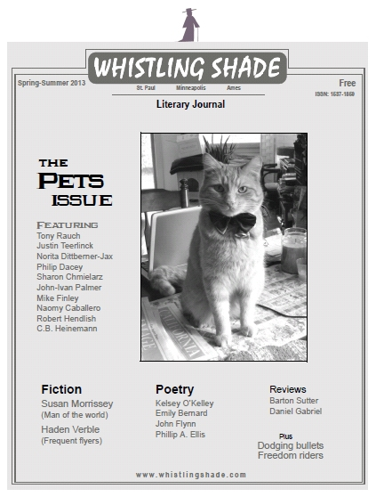 Cover of Whistling Shade (image courtesy of Whistling Shade)